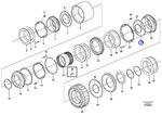 Anel de Vedação - Volvo CE - 11989819 - Unitário