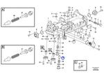 Cone de Válvula da Caixa de Filtro de Óleo - Volvo CE - 20440779 - Unitário
