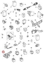 Interruptor do ar condicionado - Original Chevrolet - 90380239 - Unitário