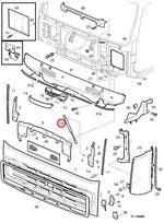 Amortecedor da Tampa Frontal - Volvo - 20379349 - Unitário