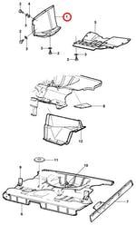 Defletor do Paralama Dianteiro Direito - Original Chevrolet - 94637698 - Unitário