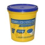Massa de polir nº2 base solvente 1kg - Norton - 77696046174 - Unitário