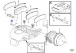 Pino do Garfo da Pinça de Freio - Volvo CE - 11707761 - Unitário