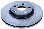 Disco de Freio Ventilado sem Cubo - Hipper Freios - HF 504 - Par