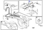 Bobina do Ventilador Reversível - Volvo CE - 11709806 - Unitário