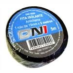 Fita Isolante em PVC Preta 5m - DNI 5029 - DNI - DNI 5029 - Unitário