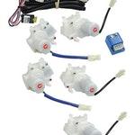 Kit de Trava Elétrica das Portas Dianteiras e Traseiras - Universal - 90372 - Unitário