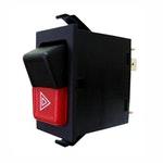 Interruptor do Pisca Alerta Audi/Vw 161953235A/ 161953235B/ Zbc953235/ Zbc95323505-7 Terminais 12V - DNI - DNI 2105 - Unitário