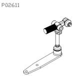 Conjunto Alavanca de Câmbio - Della Rosa - P02611 - Unitário
