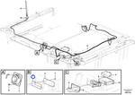 Placa Traseira - Volvo CE - 12747620 - Unitário