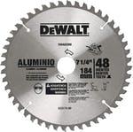 """Disco de Serra Circular 7-1/4"""" x 25mm para Alumínio 48 Dentes"""