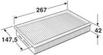 Filtro de Ar - WIX - W42524 - Unitário