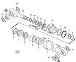 Rolamento Esférico - Volvo CE - 14013647 - Unitário