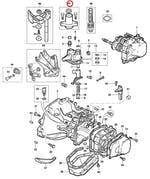 Kit Mancal Rolamento De Engate Da Alavanca Do Câmbio Câmbio A Cabo - Original Chevrolet - 98500170 - Unitário