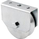 Roldana para Portão 2.1/2pol., Tipo V, Aço Zincado, Caixa Fechada - Vonder - 32.12.212.400 - Unitário