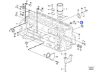 Bujão - Volvo CE - 20405986 - Unitário