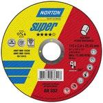 Disco de corte Super AR332 - 115x3,0x22,23mm - Norton - 66252842955 - Unitário