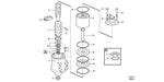 Anel de Vedação - Volvo CE - 11716760 - Unitário