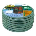 Mangueira 3 Camadas Flex Verde PVC com Engates Rosqueados e Esguicho 15m - Tramontina - 79172150 - Unitário