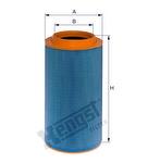 Filtro de Ar - Hengst - E603L - Unitário