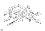Arruela do Sistema Hidráulico - Volvo CE - 14510988 - Unitário