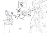 Tubo do Filtro de Óleo da Caixa de Transferência - Volvo CE - 15019937 - Unitário
