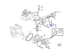 Guia do Parafuso do Suporte da Ventoinha - Volvo CE - 20551429 - Unitário