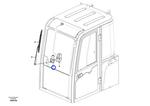 Motor do Limpador de Para-Brisa - Volvo CE - 14616768 - Unitário