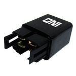 Relé Auxiliar C/ Resistor Em Paralelo C/ Bobina Honda / Hyundai / Kia / Mitsubishi - 12V 4 Term. - DNI - DNI 8114 - Unitário