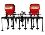 BALDAN - Cultivador Adubador em Cobertura | Nº de enxadas: 6 | Largura da armação: 2250 mm - AgroMercador - CVAC-N1 - Unitário