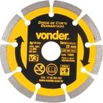 Disco de Corte V3 110 x 20mm para Construção - Vonder - 12.68.300.000 - Unitário