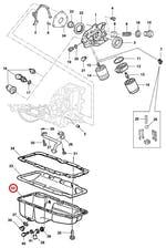 Cárter - Original Chevrolet - 93228173 - Unitário