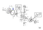 Cremalheira do Volante - Volvo CE - 21033328 - Unitário