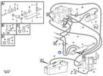 Mangueira do Sistema de Cilindro do Sistema de Direção - Volvo CE - 935510 - Unitário