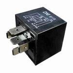 Relé Auxiliar c/ Resistor em Paralelo c/ Bobina Base Selada Hyundai/Kia/Caterpillar-12V 5 Terminais - DNI - DNI 8115 - Unitário