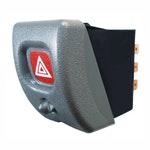 Interruptor do Pisca Alerta c/ Led (Alarme) Gm/Opel/Vauxhall 93397729-8 Terminais 12V - DNI - DNI 2183 - Unitário