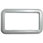 Moldura da maçaneta interna - Porta dianteira/traseira - Direito/Esquerdo - Cinza CHEVETTE 1993 - Universal - 40869 - Unitário