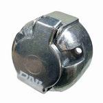 Tomada de Engate Fixa (Fêmea) 6 Polos - Alumínio - DNI 8326 - DNI - DNI 8326 - Unitário