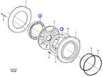 Impulsor do Freio do Eixo Planetário - Volvo CE - 11103226 - Unitário