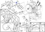 Mangueira de Óleo - Volvo CE - 15151026 - Unitário