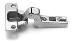 Dobradiça MS15 Slide-On Inox Curva Alfa Completa 110°