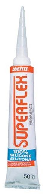 Borracha de Silicone Incolor Superflex 50g - Loctite - 437405 - Unitário