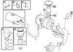 Tubo do Filtro de Ar - Volvo CE - 11172245 - Unitário