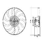 Eletroventilador - Valeo - 4EV012A - Unitário