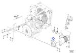 Suporte do Filtro de Ar - Volvo CE - 11802326 - Unitário