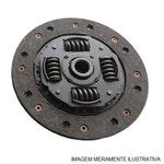 Disco de Embreagem - Diâmetro de 190mm - 17 Estrias - Com Pré Amortecimento - LuK - 319 0077 10 - Unitário