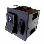 Chave Comutadora Luz c/ Dimmer Audi/Vw305941531A/305941531A05/311941531K/321941531K-8 Terminais 12V - DNI - DNI 2118 - Unitário