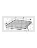 Filtro do Ar Condicionado - Mann-Filter - CU 2450 - Unitário