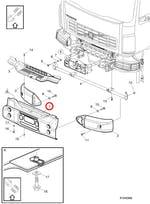 PARA-CHOQUE - Volvo - 20967999 - Unitário