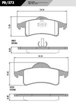 Pastilha de freio GRAND CHEROKEE 2001 - Fras-le - PD/573 - Par